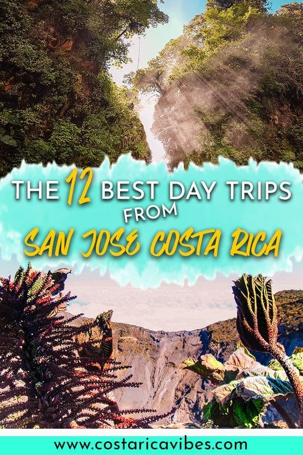 San Jose Costa Rica is a great jumping off point for fun day trip options. You can visit beautiful beaches, go hiking, visit volcanos and more! #CostaRica #SanJoseCostaRica