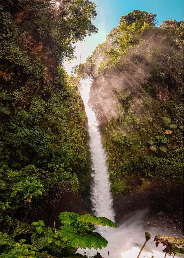 alajuela waterfall