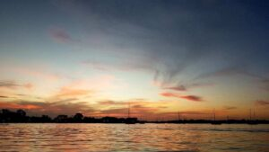 bocas del toro sunset view