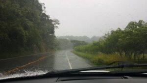 rain in Costa Rica