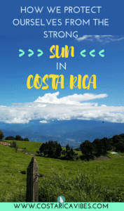 Did you know that the UV forecast in Costa Rica is almost double that of most warm places in the US? It's the real deal! Find out how to protect yourself. #CostaRica #traveltip #sunscreen