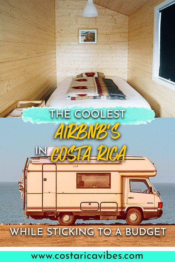 Have you ever wanted to sleep in a school bus, dome, underground house, etc? You can in Costa Rica! Find out the coolest Airbnb listings. #Airbnb #CostaRica