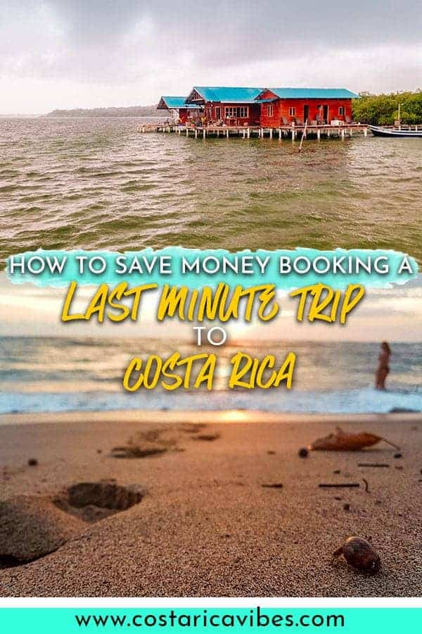 Want to know how to plan for a last minute trip to Costa Rica? Sometimes planning last minute can even save you a ton of money! #costarica #travel