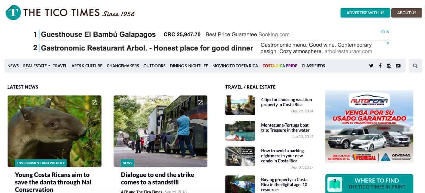news in costa rica