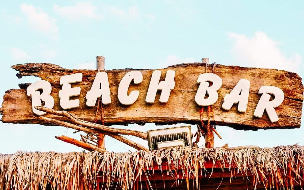 beach bars in costa rica
