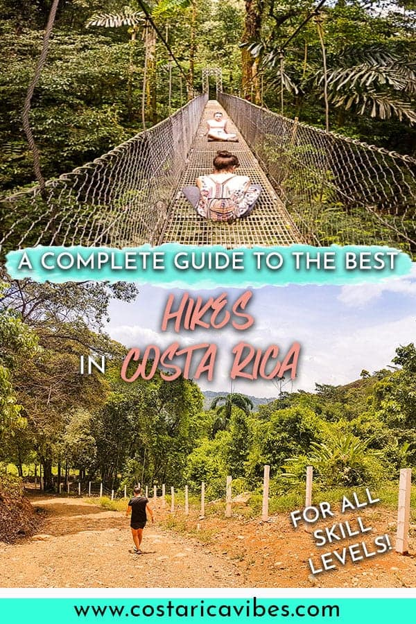 Hiking in Costa Rica is excellent! Here are our absolute favorite spots for various skill levels. #CostaRica #hiking