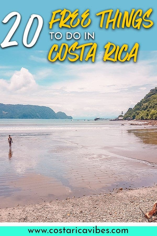Did you know there are tons of free things to do in Costa Rica that you'll love? Find out about the best free Costa Rica waterfalls, free things to do in La Fortuna, Costa Rica, and more with this complete guide to free Costa Rica activities! #CostaRica #FreeThingsToDo #CentralAmerica #LaFortuna #budgettravel