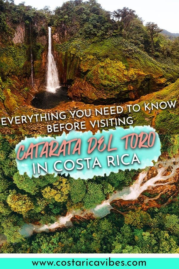 If you want to visit a waterfall in Costa Rica check out Catarata del Toro. It is seriously impressive and the perfect thing to do in Costa Rica.