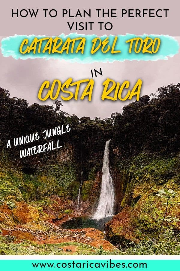 Catarata del Toro in Costa Rica is a seriously impressive waterfall located in between San Jose and the La Fortuna area. Find out how to plan the perfect visit to this cool Costa Rica waterfall. #CostaRica #waterfall #cataratadeltoro