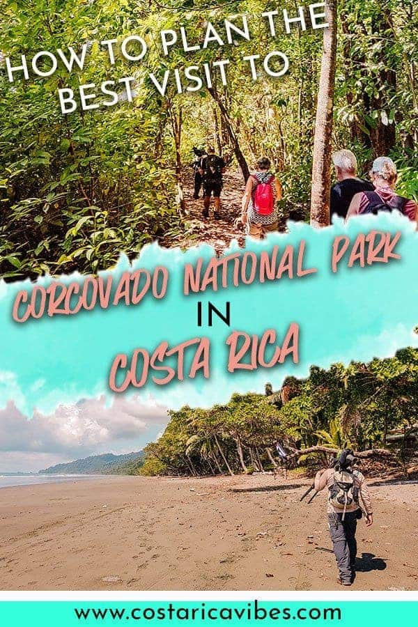 Corcovado National Park in Costa Rica is a great place to visit for day or multi day hikes. the national park is rch in biodiversity and you can see animals like jaguars. Fins out how to plan the perfect visit. #CostaRica #Corcovado #nationalpark