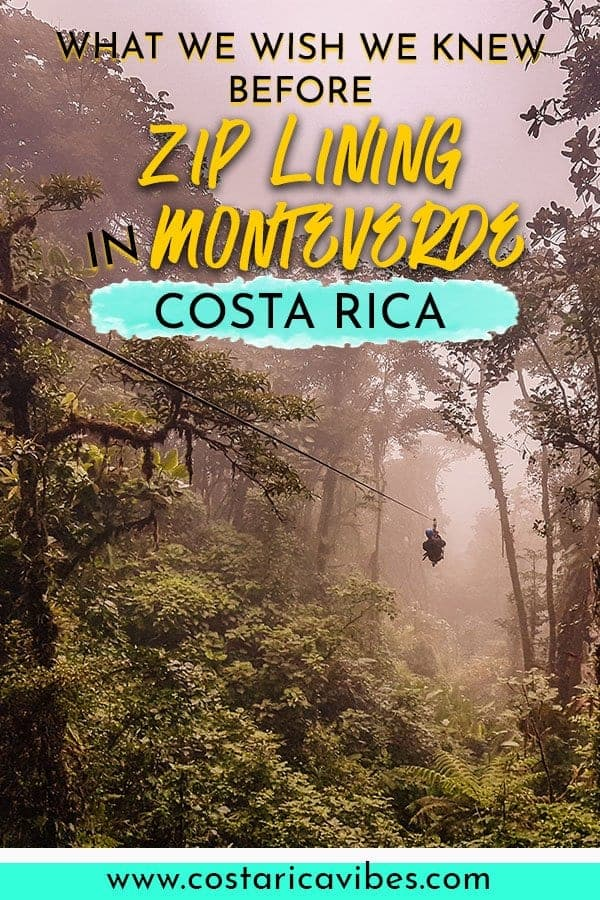 Monteverde Costa Rica is the perfect place to try out zip lining. There are a variety of companies with with courses designed for various thrill levels. Find out everything you need to know before zip lining in Monteverde. #Monteverde #CostaRica #zipLining #CanopyTour