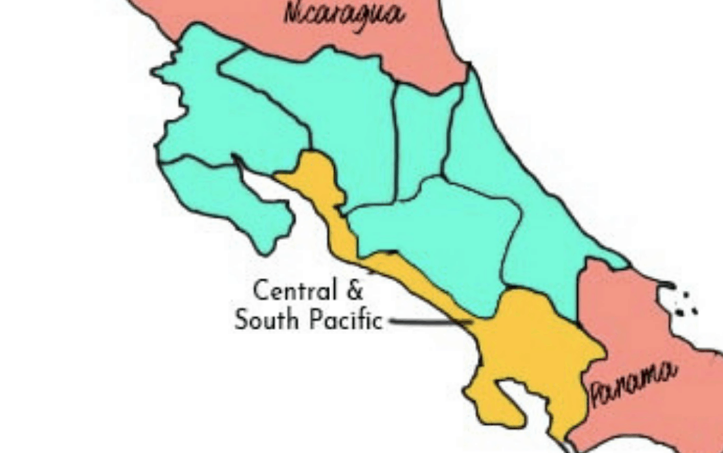 central and south pacific