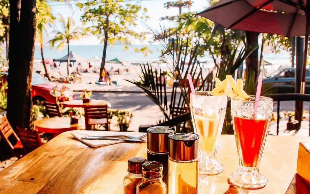 costa rica beach bar
