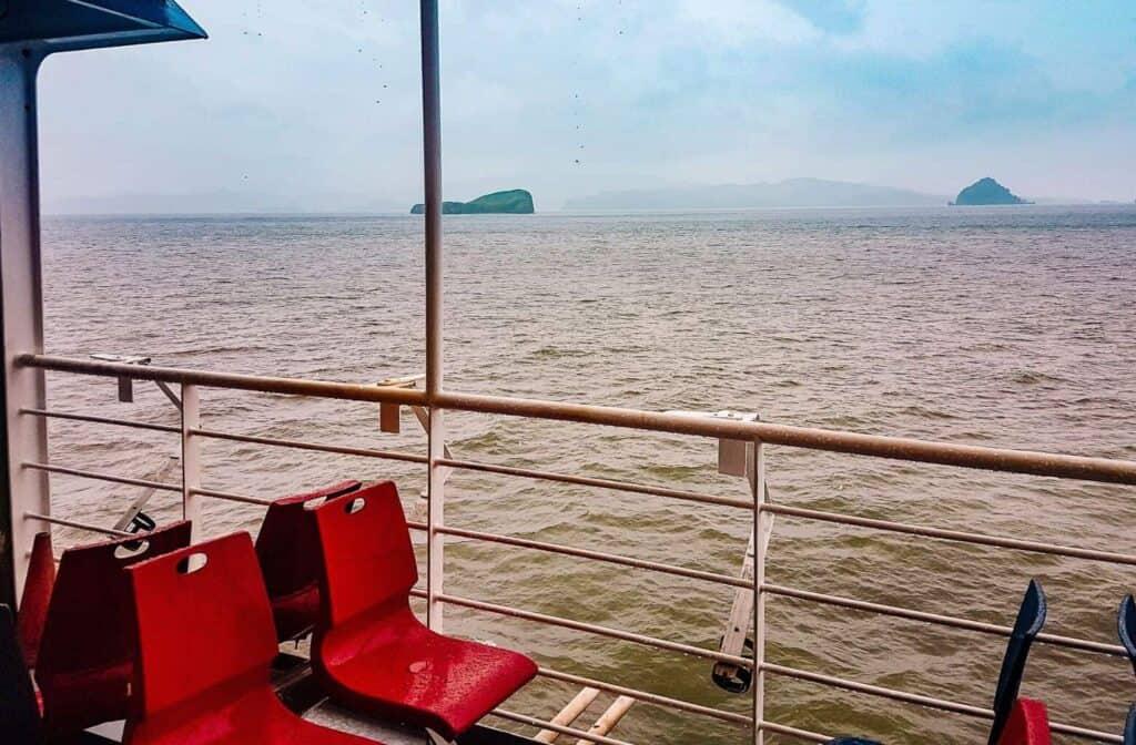 puntarenas ferry view