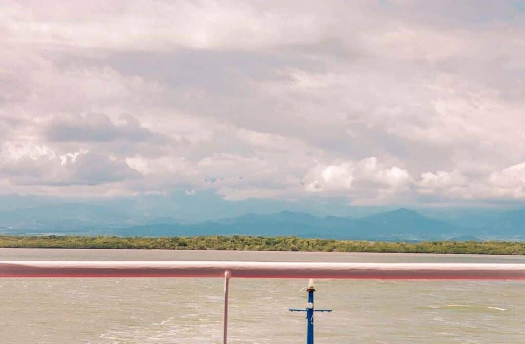 ferry view costa rica