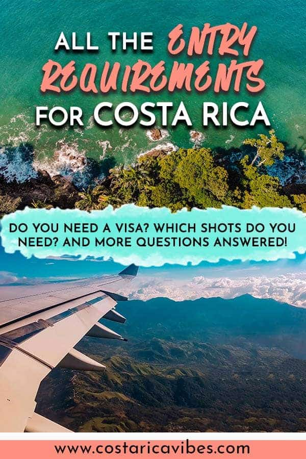 Whether you are planning to enter Costa Rica by air, by land, or by sea; there are several things you need to know in order to successfully gain access to the country. Costa Rica entry requirements are not ridiculous, but they are heavily forced. #CostaRica