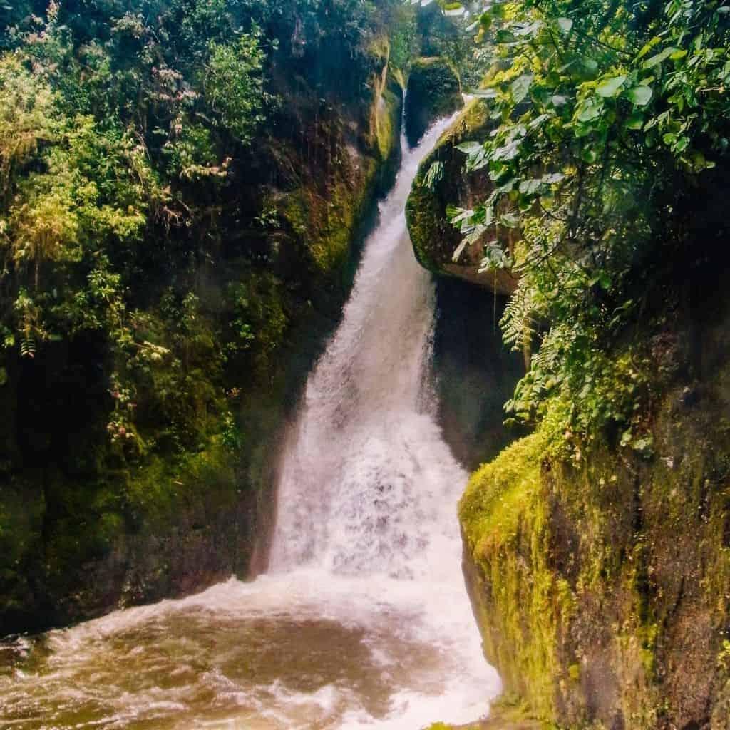 san gerardo waterfall