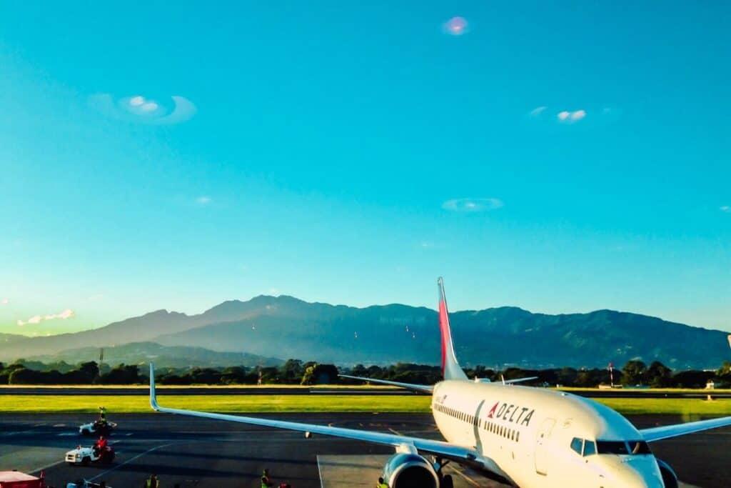 Costa Rica plane
