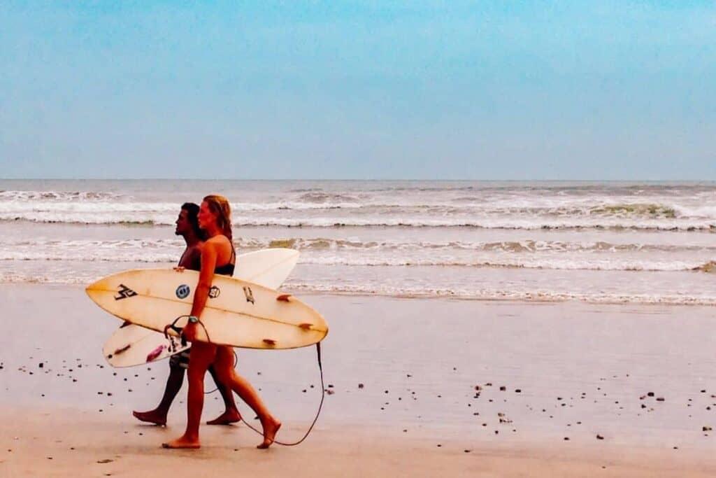 nosara surfers