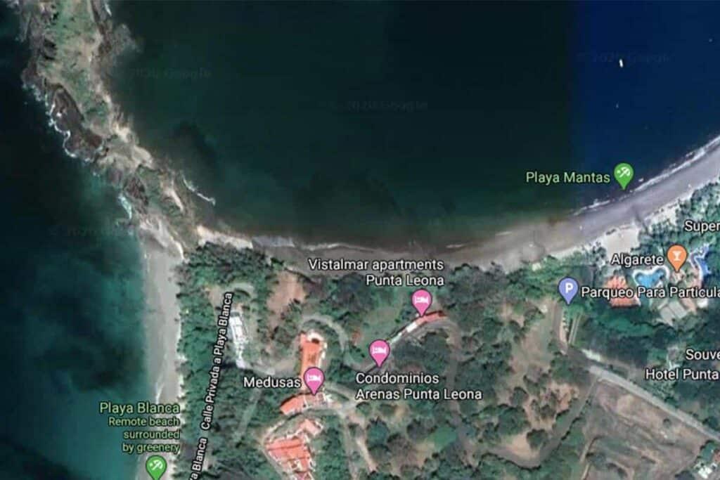 playa blanca map