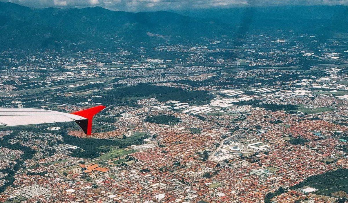 san jose plane view