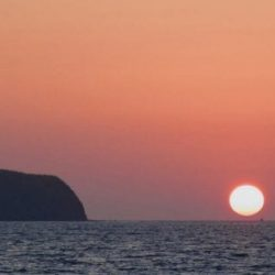 playas del coco sunset